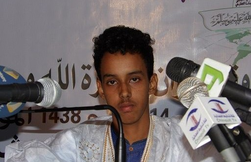 بالفيديو : الشاب محمد فاضل ولد ابن