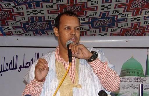 بالفيديو : الشاعر محمد الأمين ولد أحمد دي